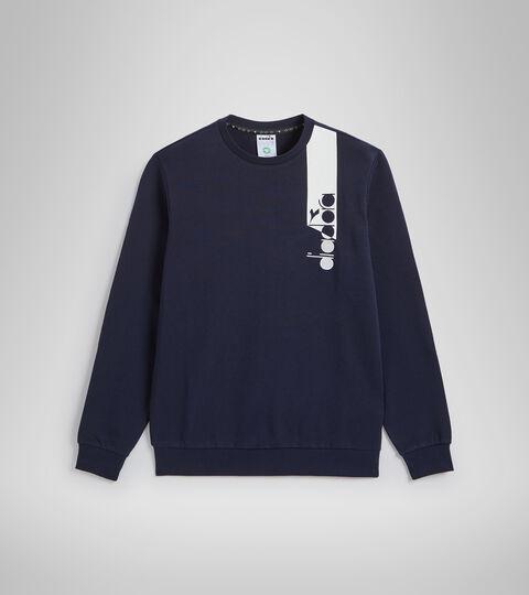 Crew-neck sweatshirt - Unisex SWEATSHIRT CREW ICON CLASSIC NAVY - Diadora