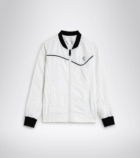 Apparel Sport BAMBINO G. JACKET COURT OPTICAL WHITE Diadora