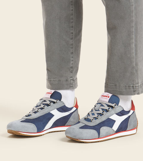 Footwear Heritage UNISEX EQUIPE SUEDE SW BLU NOTTE Diadora