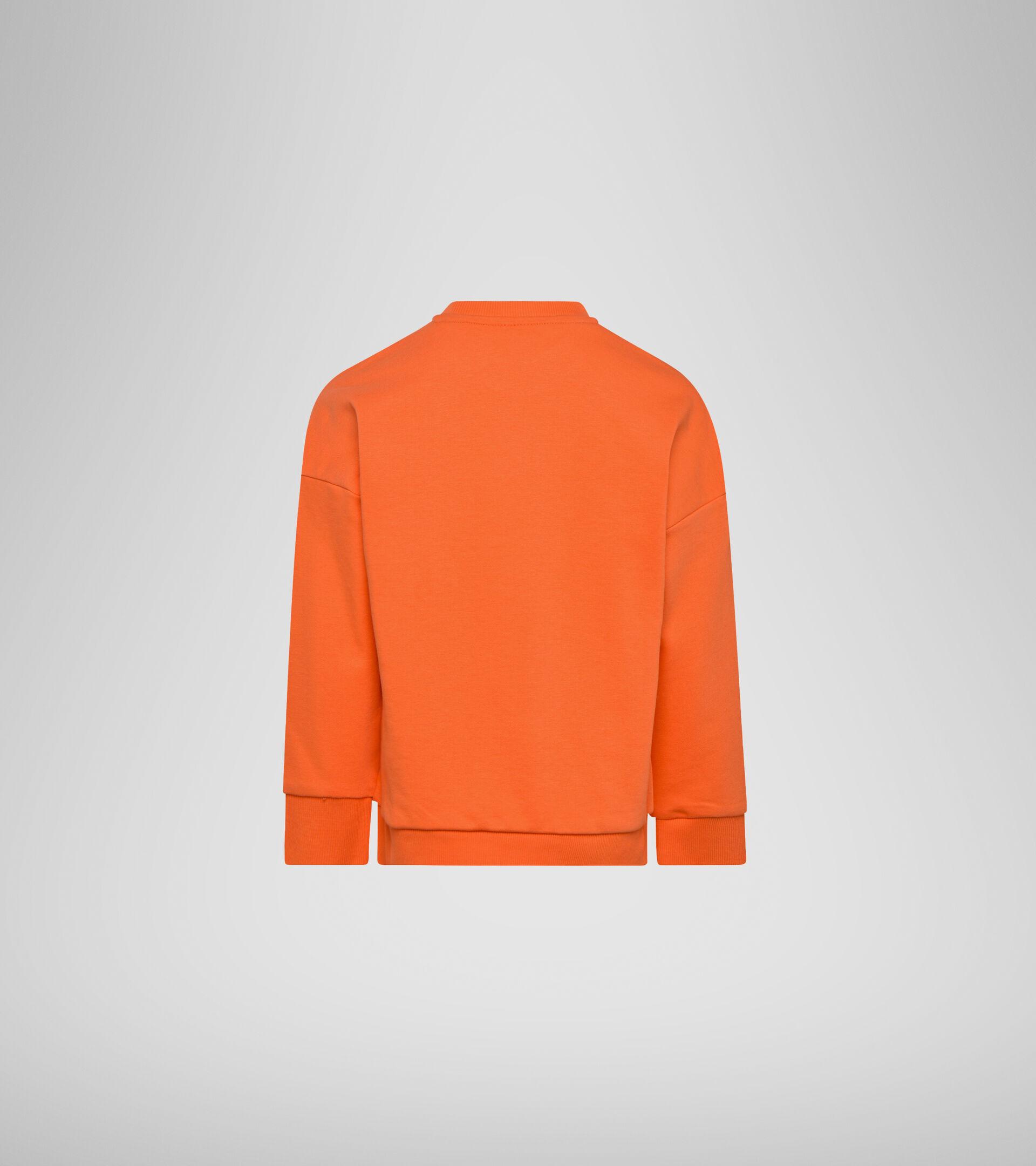 Crew-neck sweatshirt - Boys JB.SWEATSHIRT CREW DIADORA CLUB ORANGE NASTURTIUM - Diadora