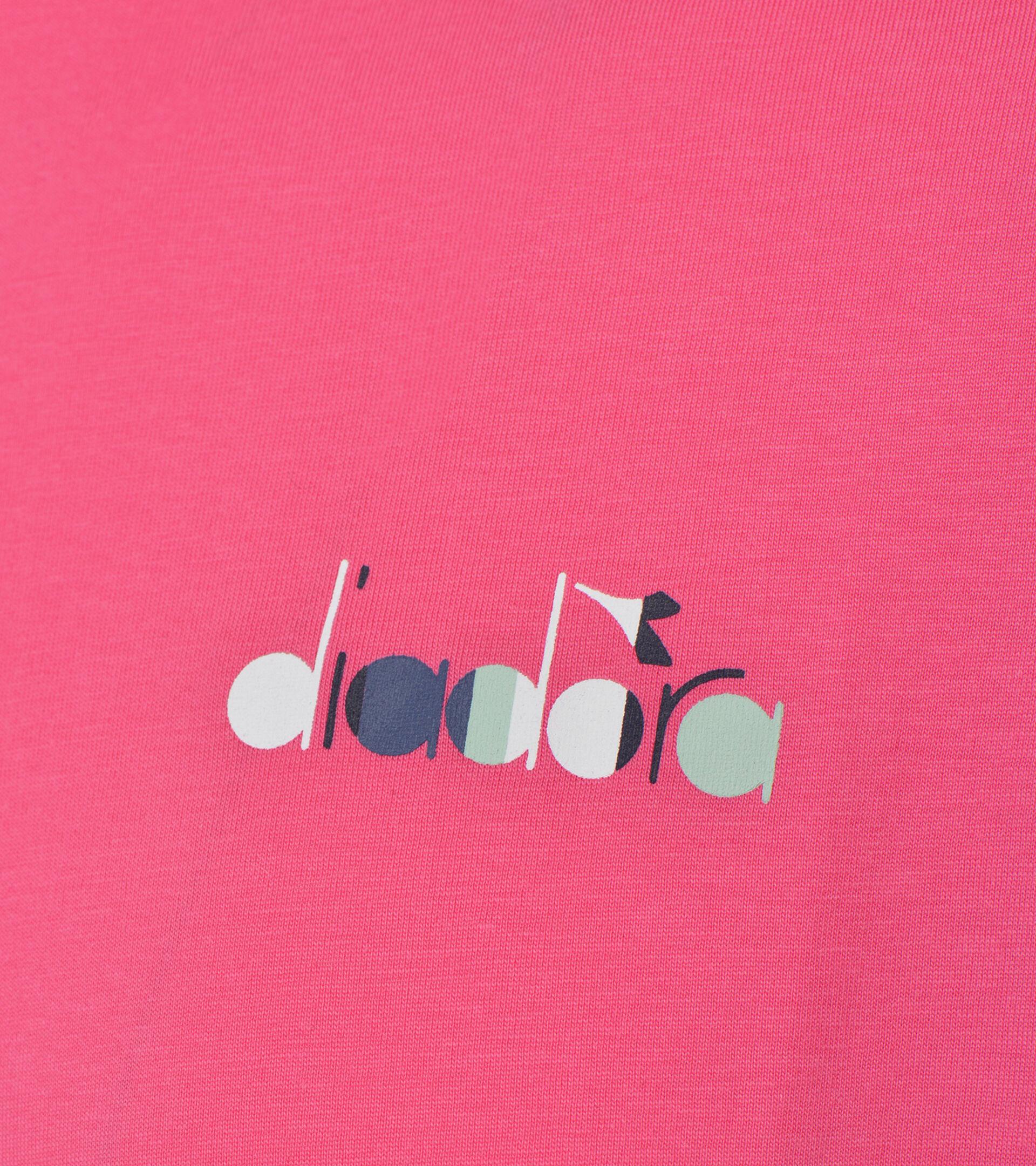 T-shirt - Uomo L. T-SHIRT SS SPOTLIGHT FANDANGO ROSA - Diadora