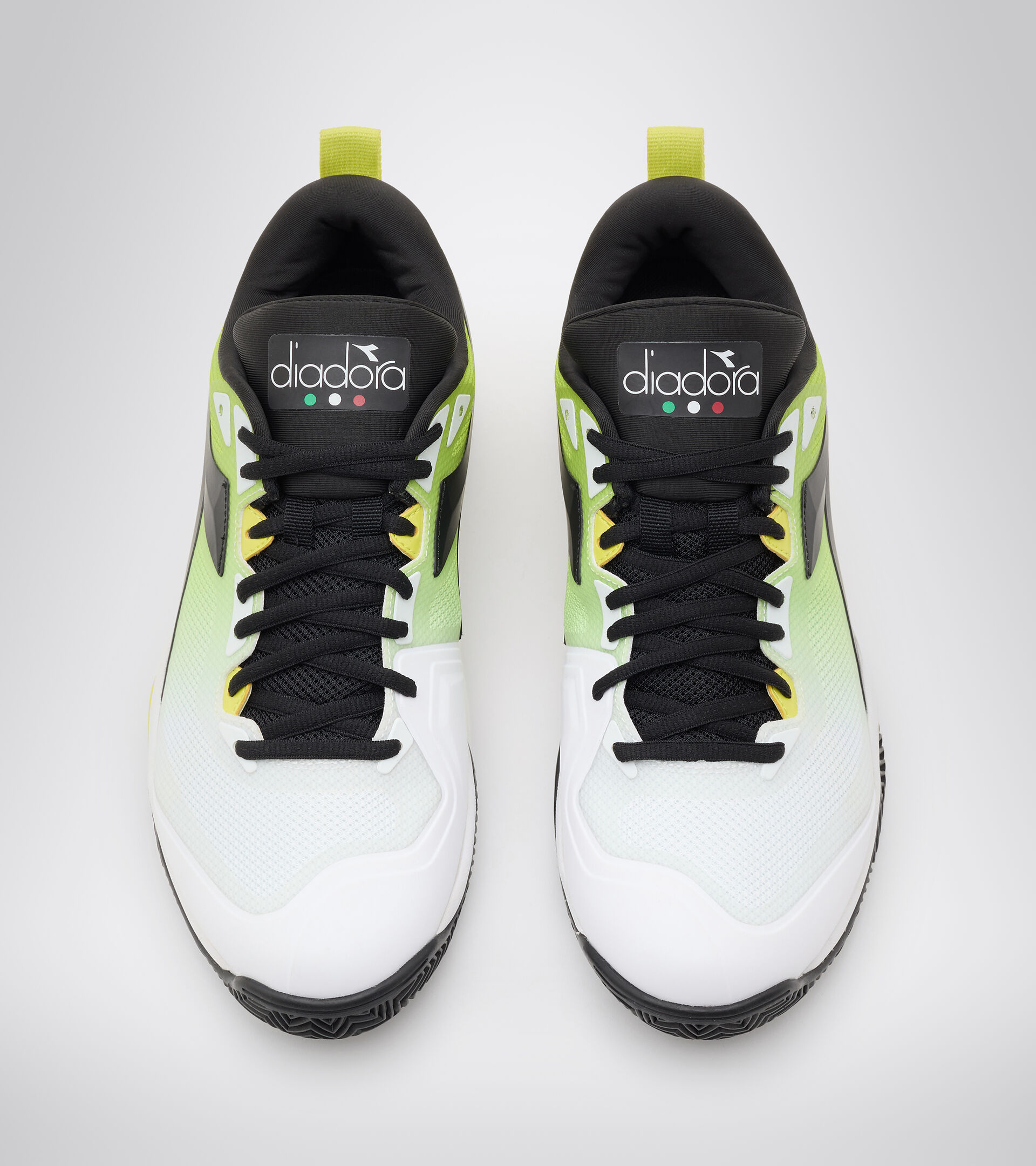Footwear Sport UOMO SPEED BLUSHIELD 5 CLAY BIANCO/NERO/LIME GREEN Diadora