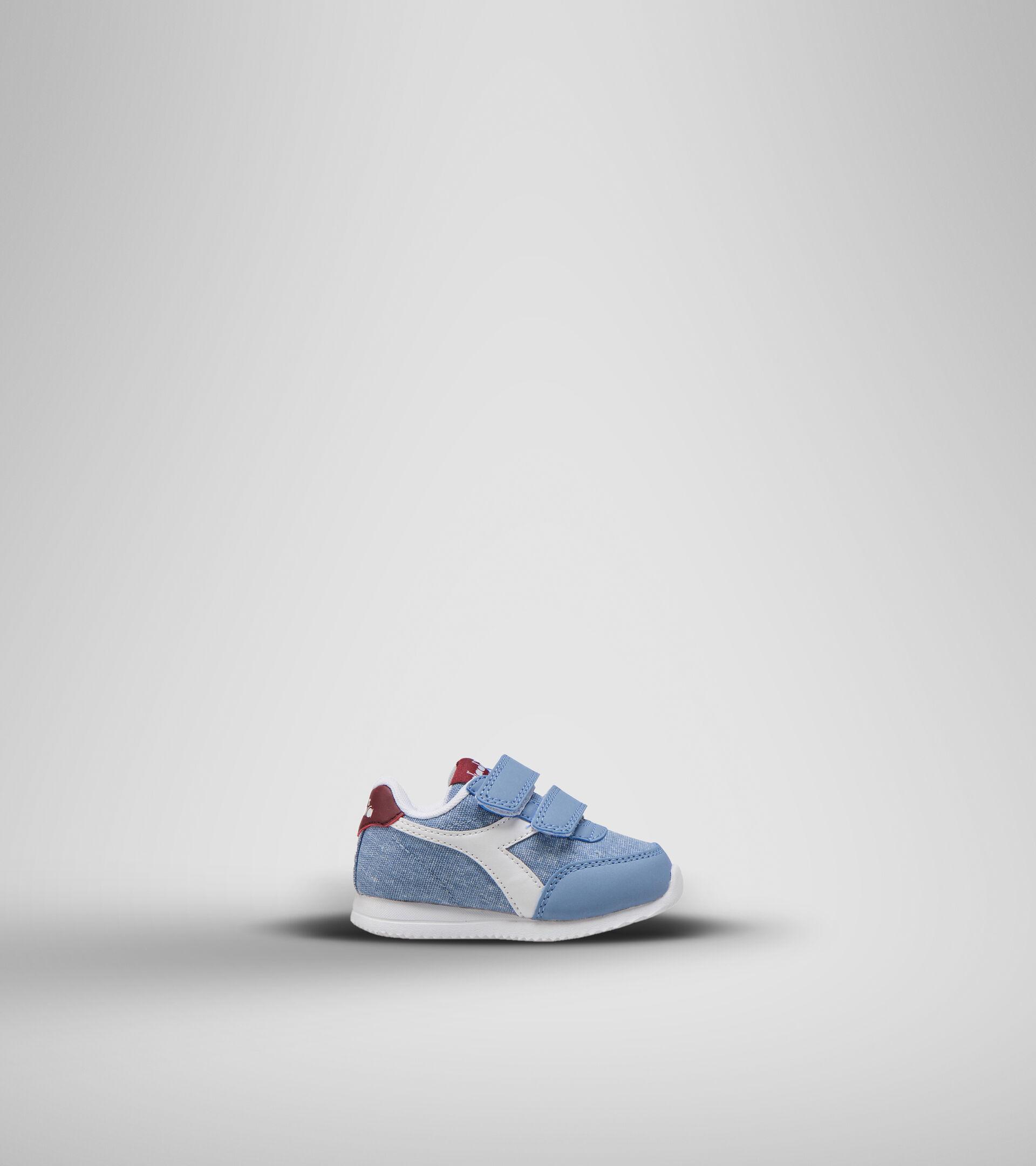 Sports shoes - Toddlers 1-4 years JOG LIGHT TD FADED DENIM/ZINFANDEL - Diadora