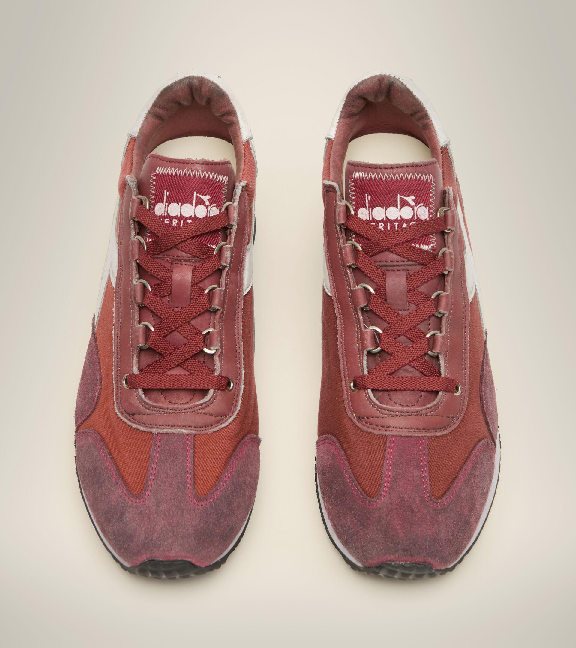 Heritage-Schuh - Unisex EQUIPE H DIRTY STONE WASH EVO VERBRANNT HENNA - Diadora
