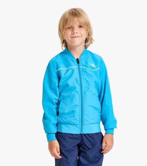Tennis jacket - Junior J. JACKET COURT ROYAL FLUO - Diadora