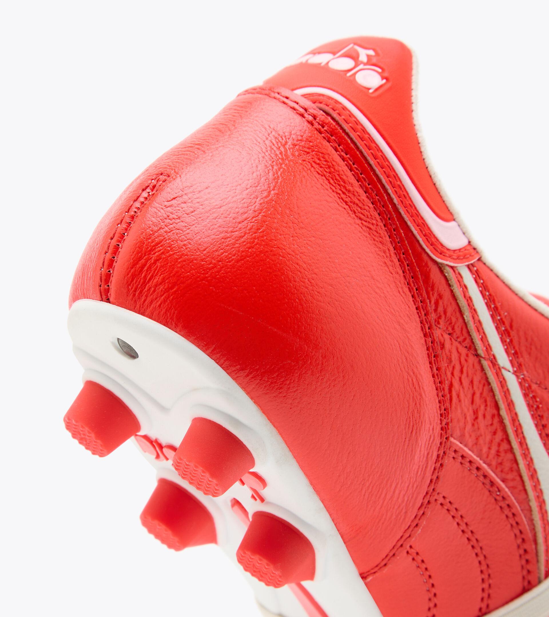Footwear Sport UOMO BRASIL ITALY LT+ MDPU ROSSO FLUO/BIANCO Diadora