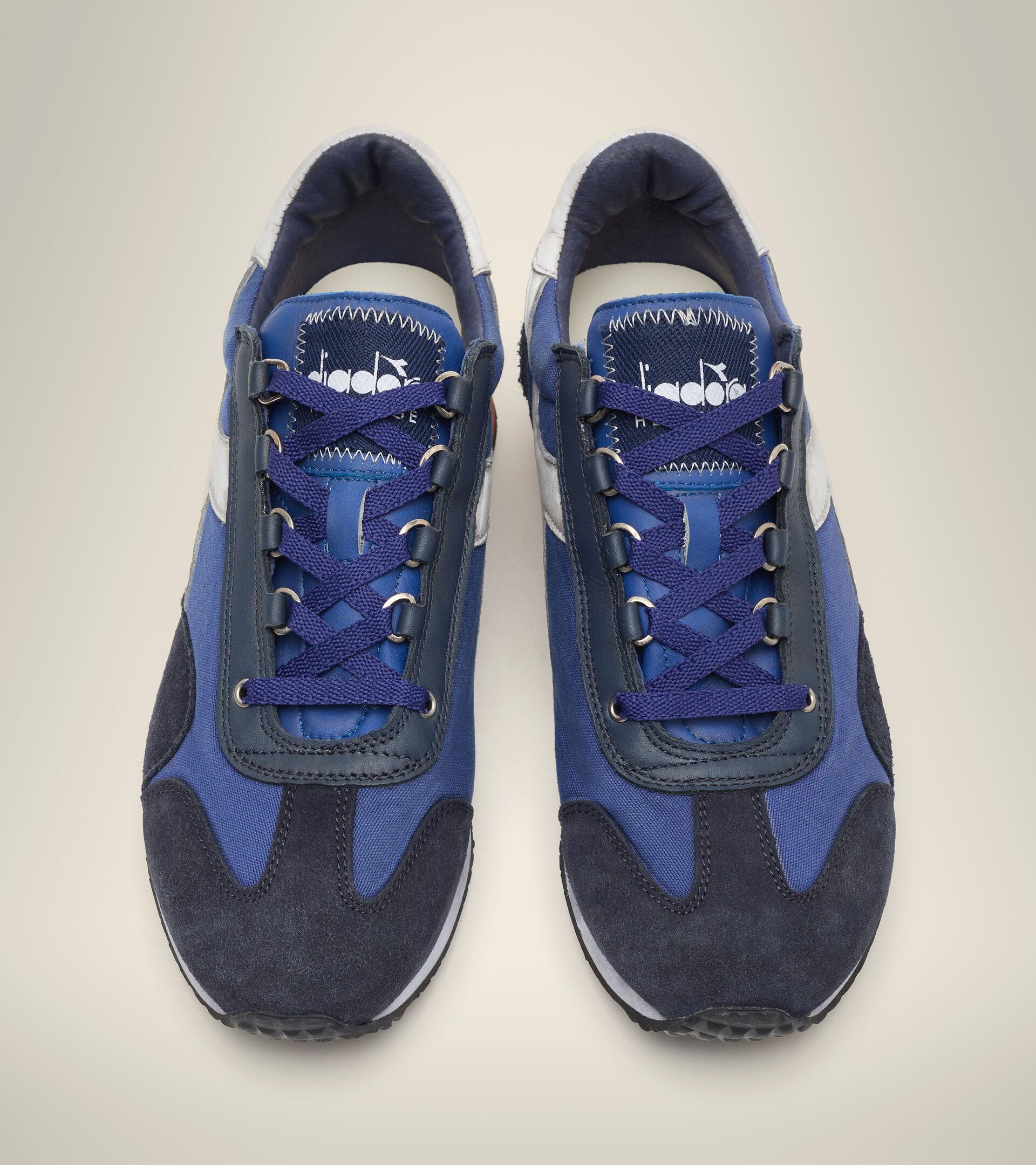 Footwear Heritage UNISEX EQUIPE H DIRTY STONE WASH EVO AZUL LIMOGES Diadora