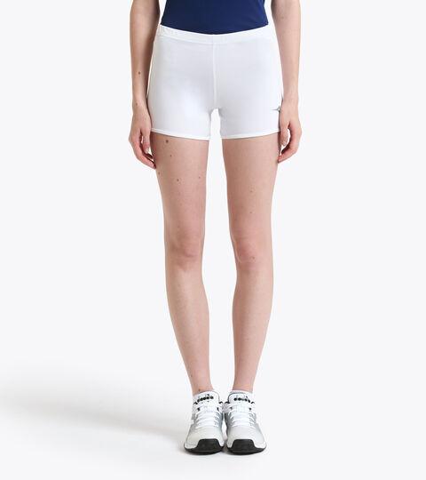 Tennis Shorts - Women L. SHORT TIGHT OPTICAL WHITE - Diadora