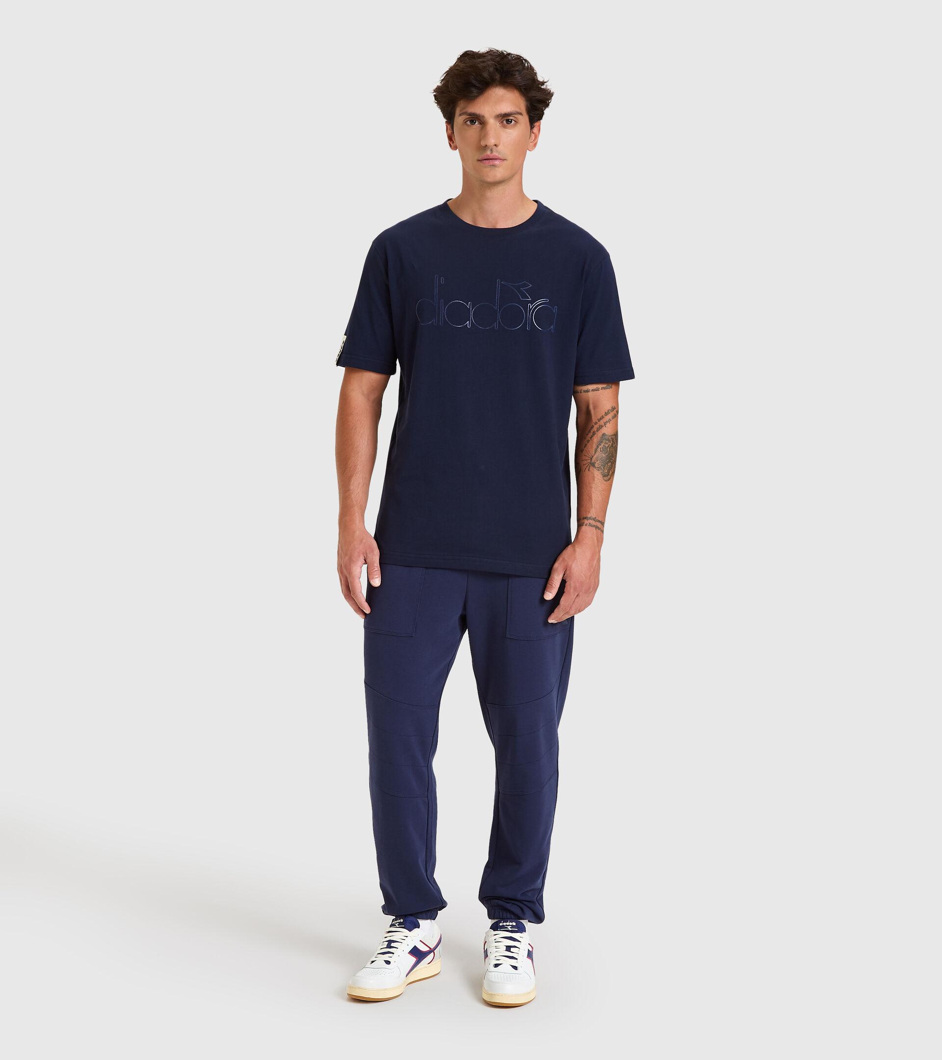 Camiseta - Unisex T-SHIRT SS DIADORA HD AZUL CHAQUETON - Diadora