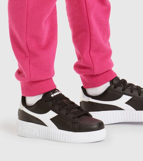 Footwear Sport BAMBINO GAME STEP PS BLACK /WHITE Diadora