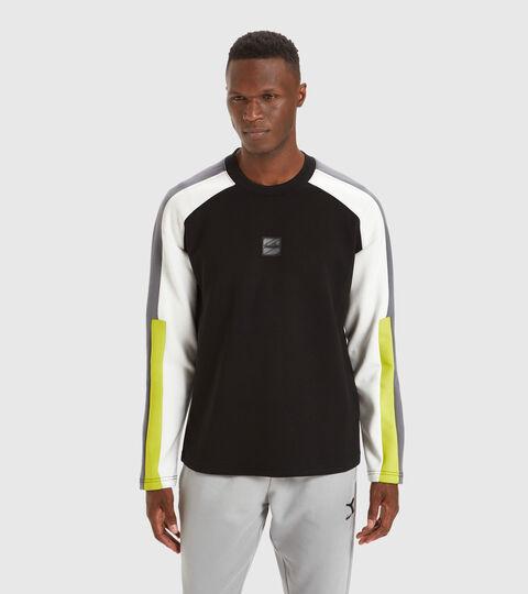 Apparel Sportswear UOMO SWEATSHIRT CREW URBANITY NERO Diadora
