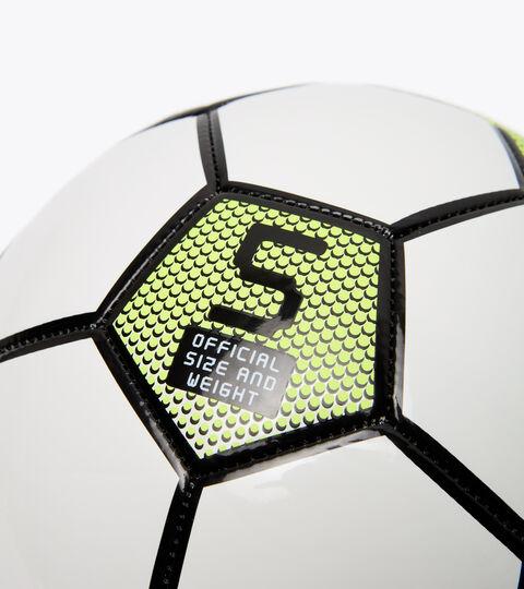 Pallone da calcio BOMBER 5 BIANCO/GIALLO FLUO DIADORA /NE - Diadora