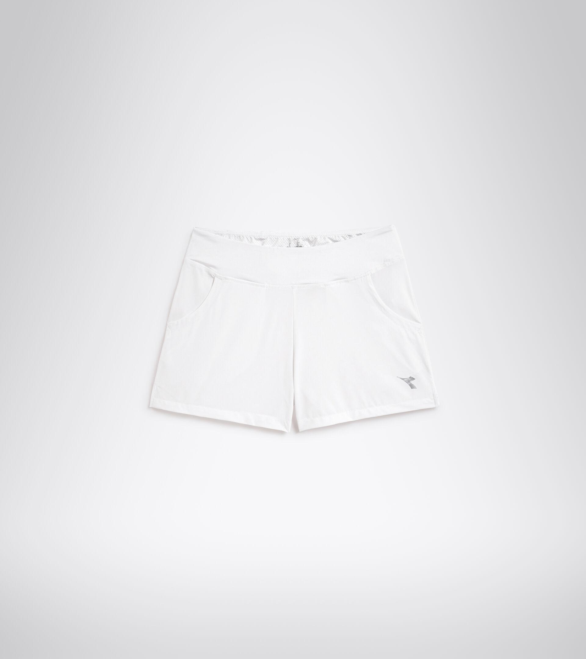 Apparel Sport DONNA L. SHORT COURT OPTICAL WHITE Diadora