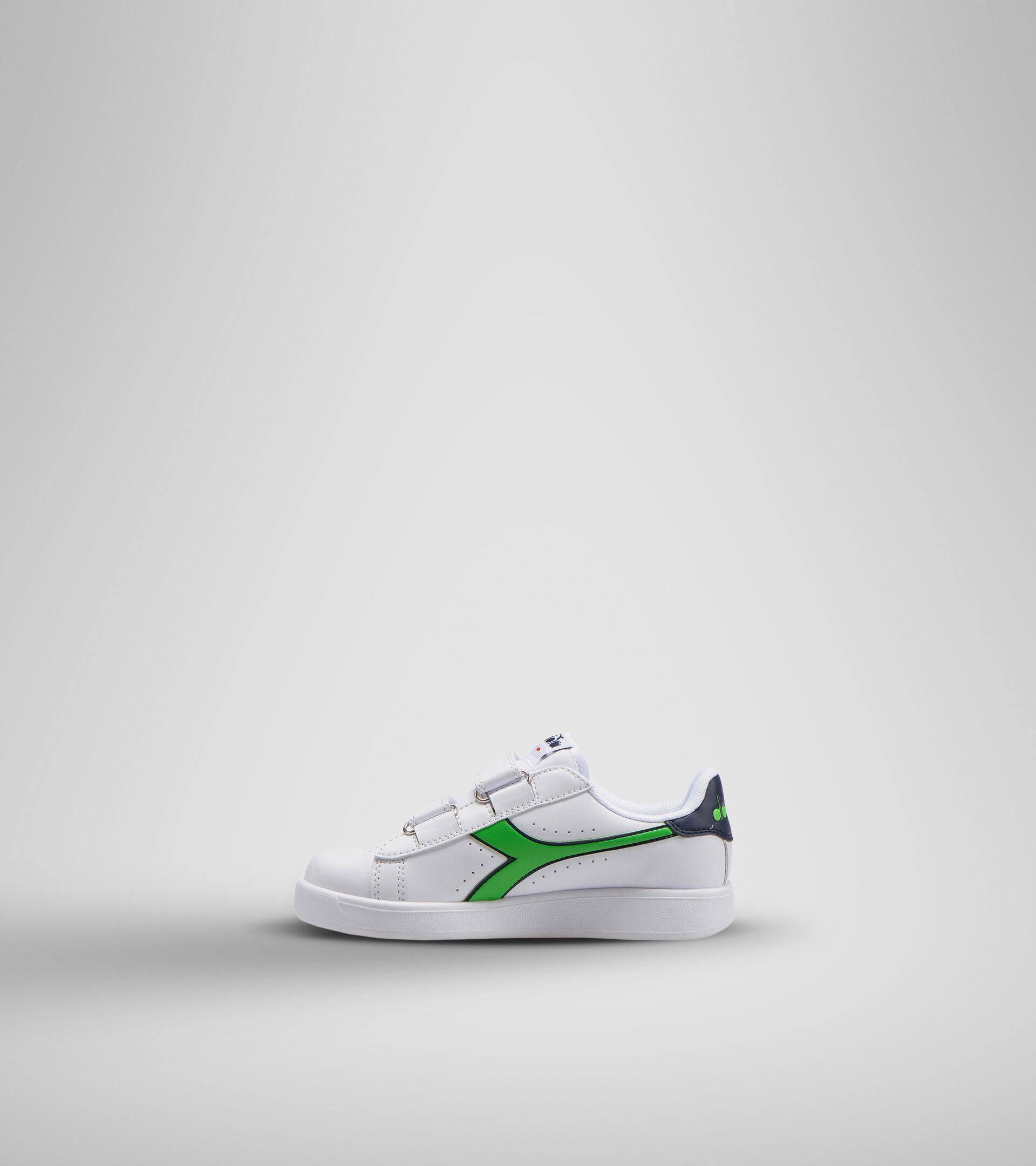 Footwear Sport BAMBINO GAME P PS BLCO/LIRIO NEGRO/VERDE CLASICO Diadora