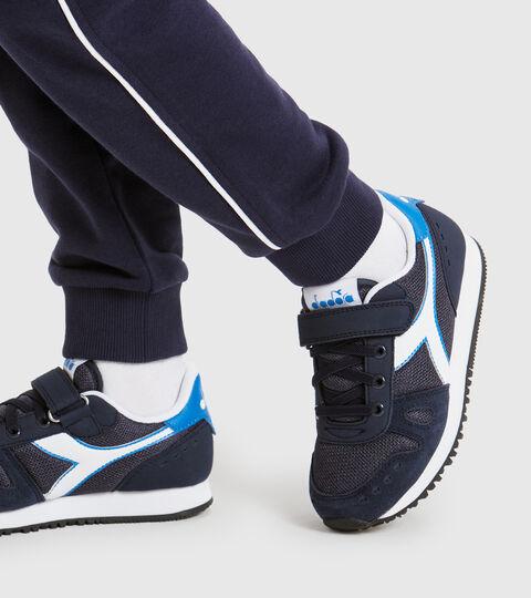 Zapatilla deportiva - Niños 4-8 años SIMPLE RUN PS NEGRO IRIS - Diadora