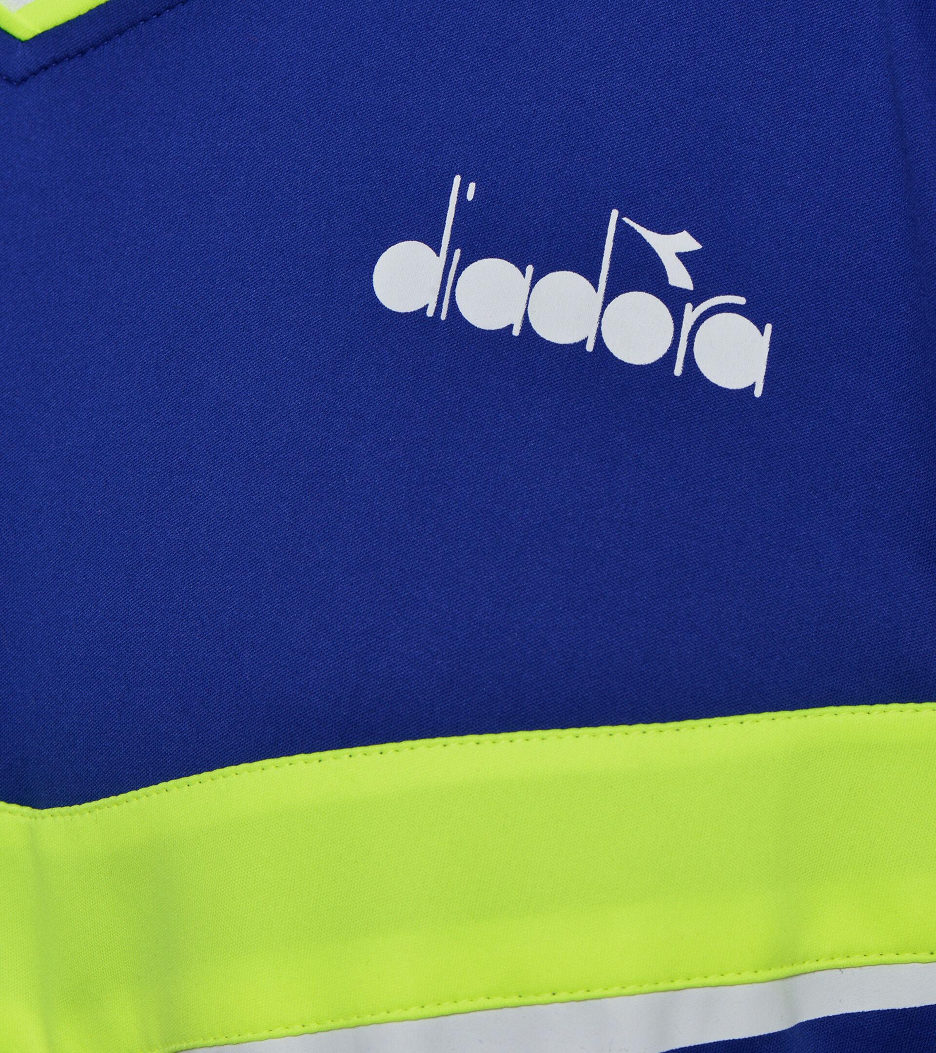 Tennis polo shirt - Men POLO SS BLUE REGISTA - Diadora