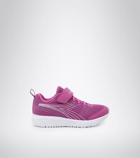 Chaussures de running - Unisexe enfant FLAMINGO 6 JR VIOLET VIF/BLANC - Diadora