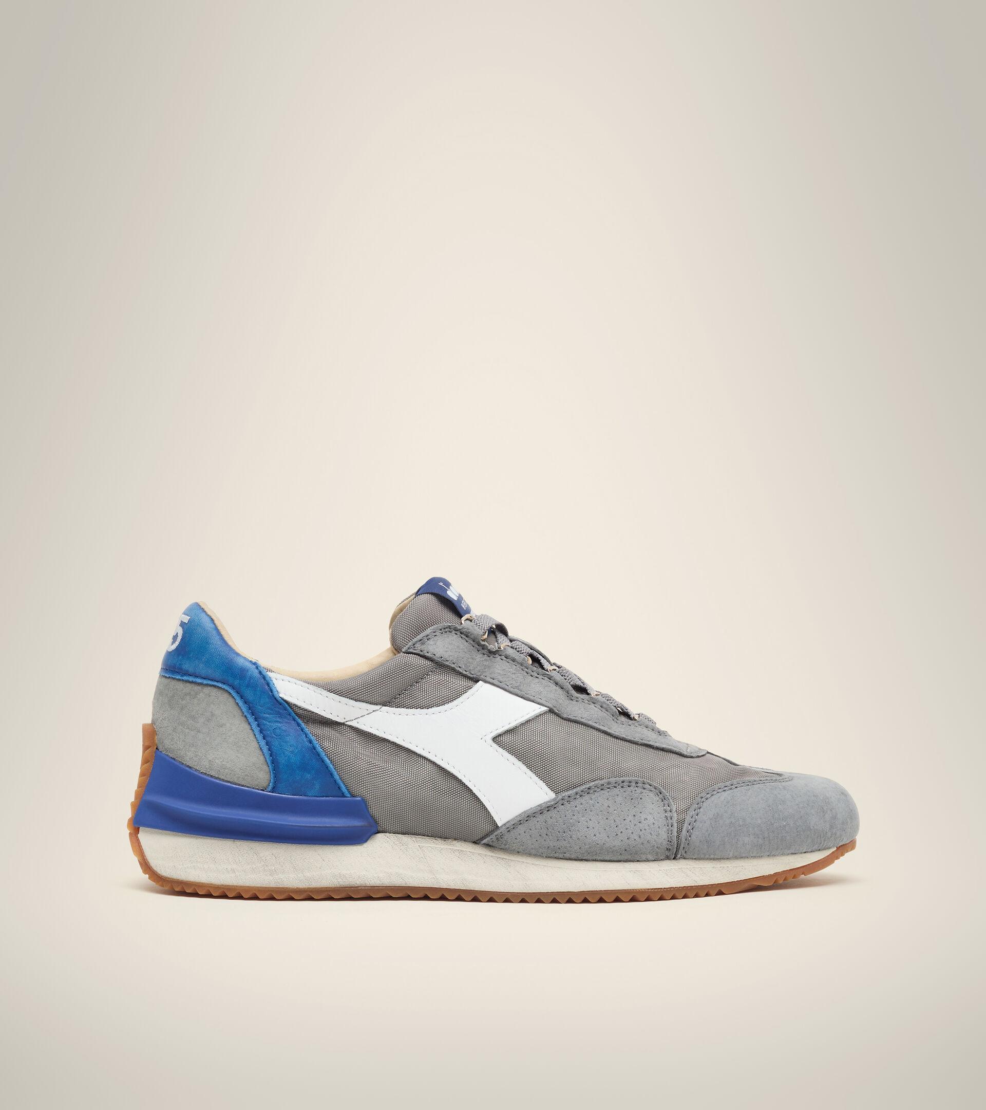 Heritage shoe - Unisex EQUIPE MAD ITALIA NUBUCK SW ASH GREY - Diadora