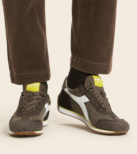 Footwear Heritage UNISEX EQUIPE SUEDE SW MARRONE CIOCCOLATINO Diadora