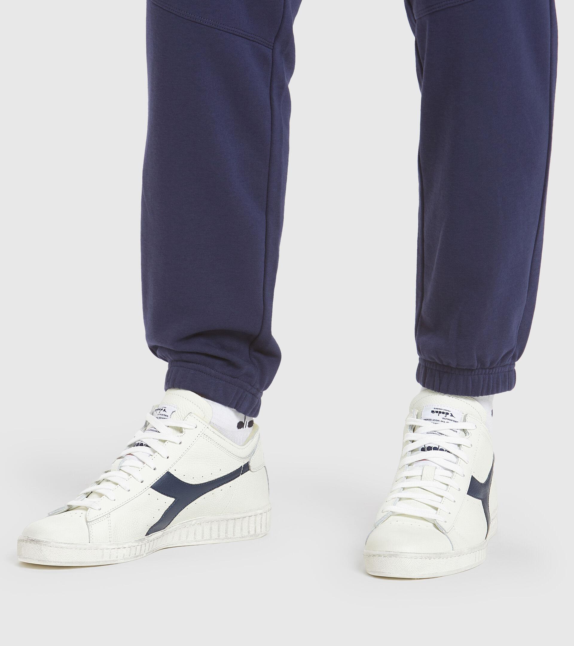 Footwear Sportswear UNISEX GAME L WAXED ROW CUT BLANCO/UNIFORME AZUL Diadora