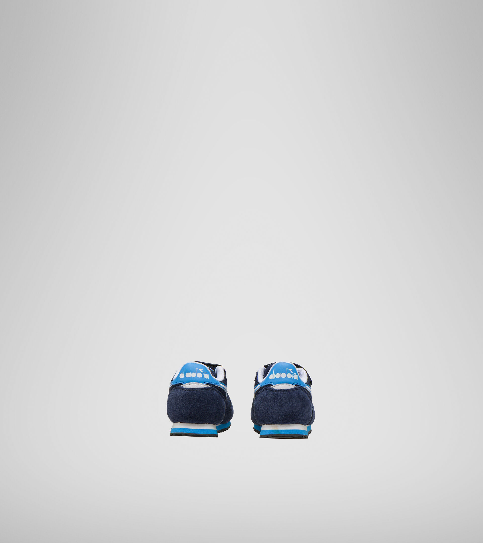 Footwear Sport BAMBINO SIMPLE RUN TD CORSAIR/SKY-BLUE BLITHE Diadora