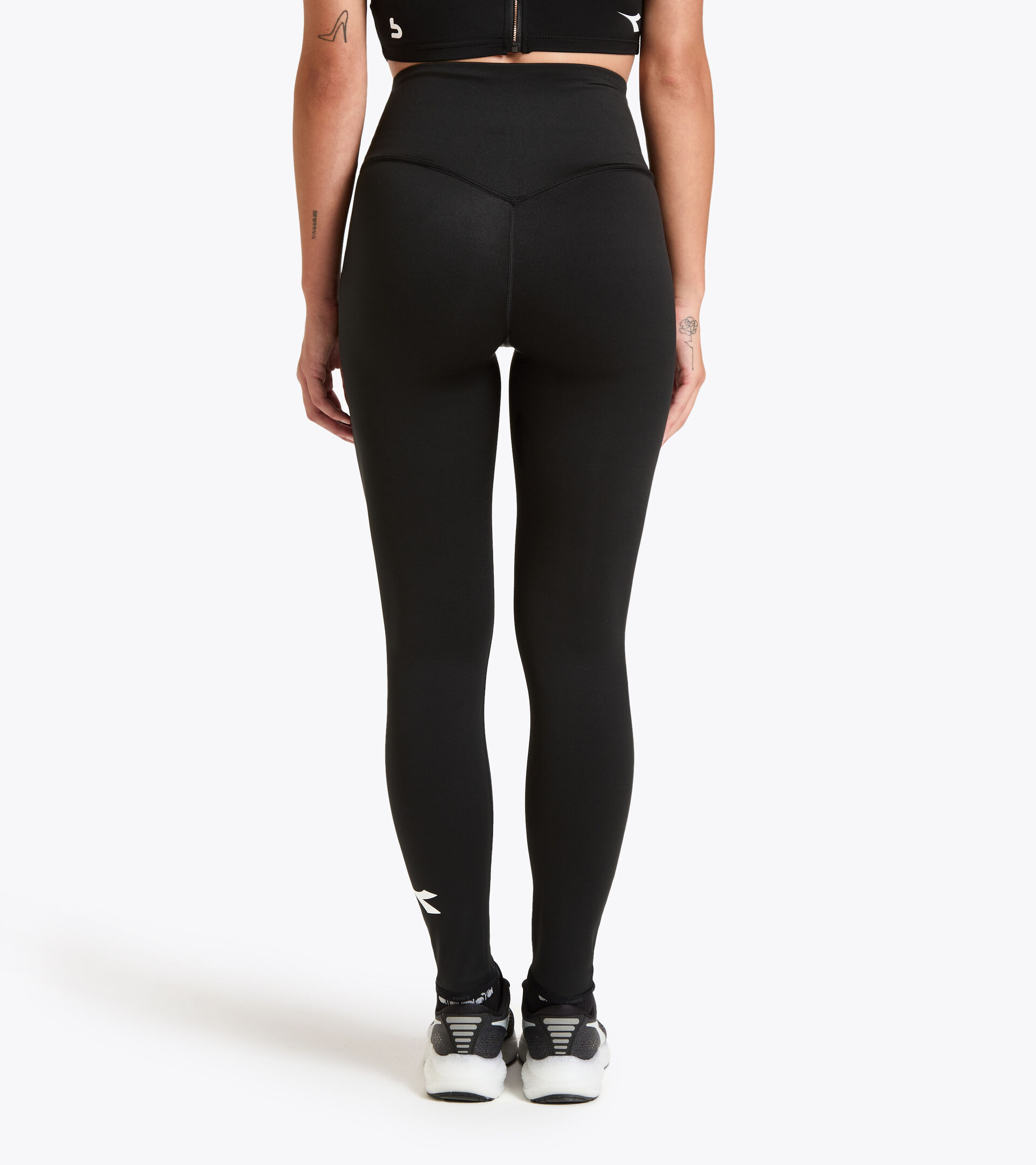 Apparel Sport DONNA L. HW RUNNING TIGHTS BUDDYFIT BLACK Diadora