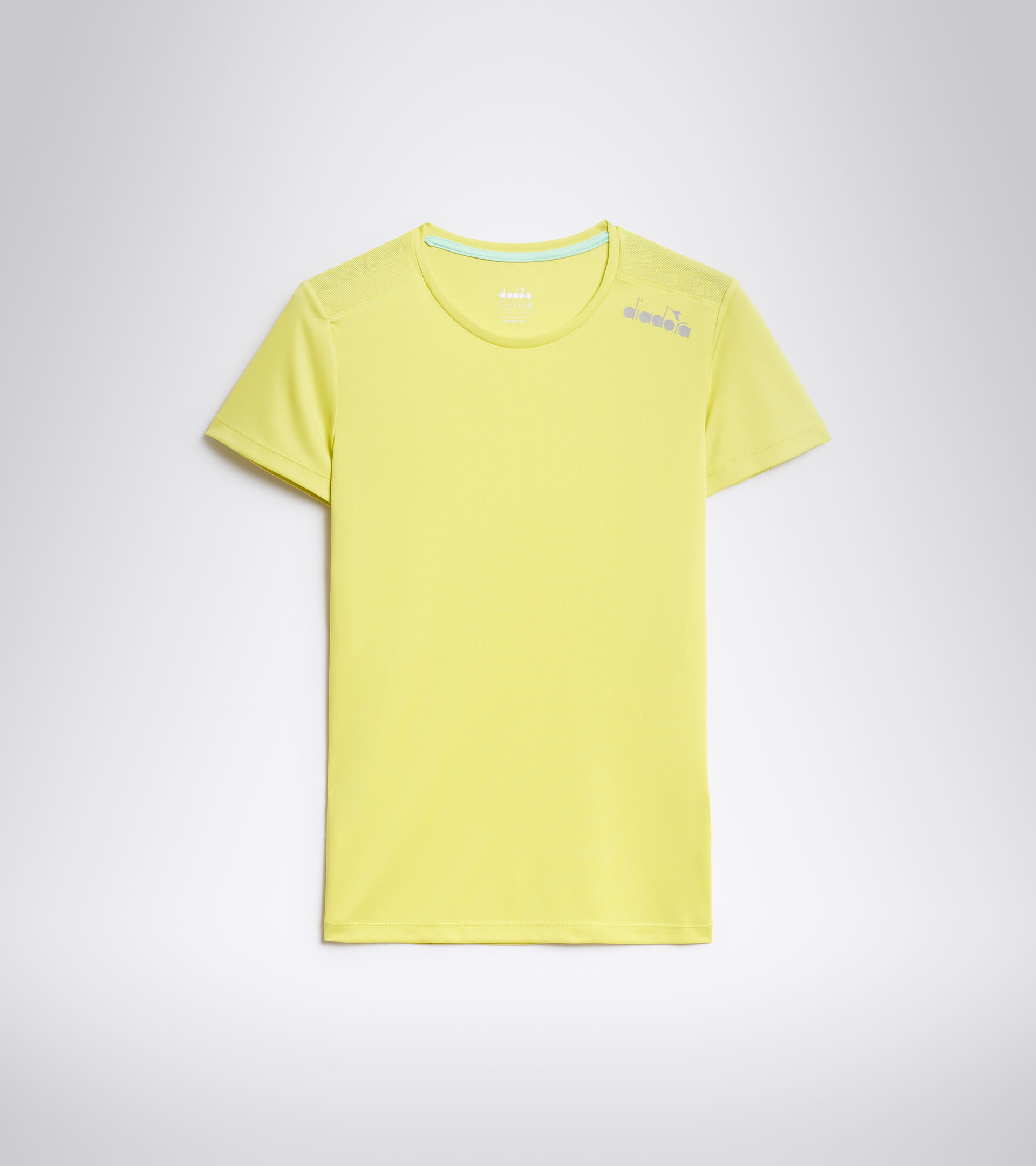 Lauf-T-Shirt - Damen L. SS CORE TEE SCHWEFELQUELLE - Diadora