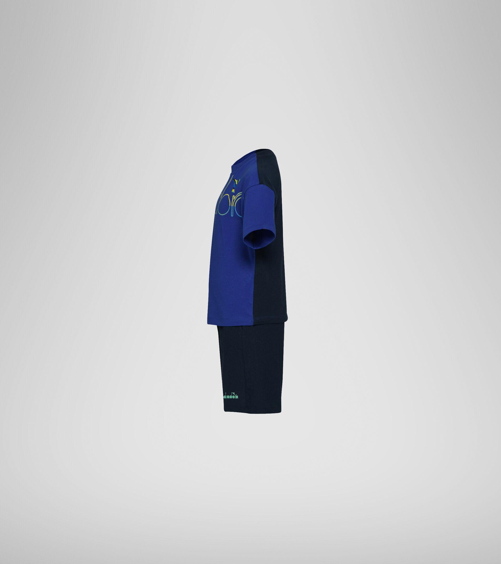 Tracksuit - Boys JB. SET SS SPOTLIGHT BLUE CLEMATIS - Diadora