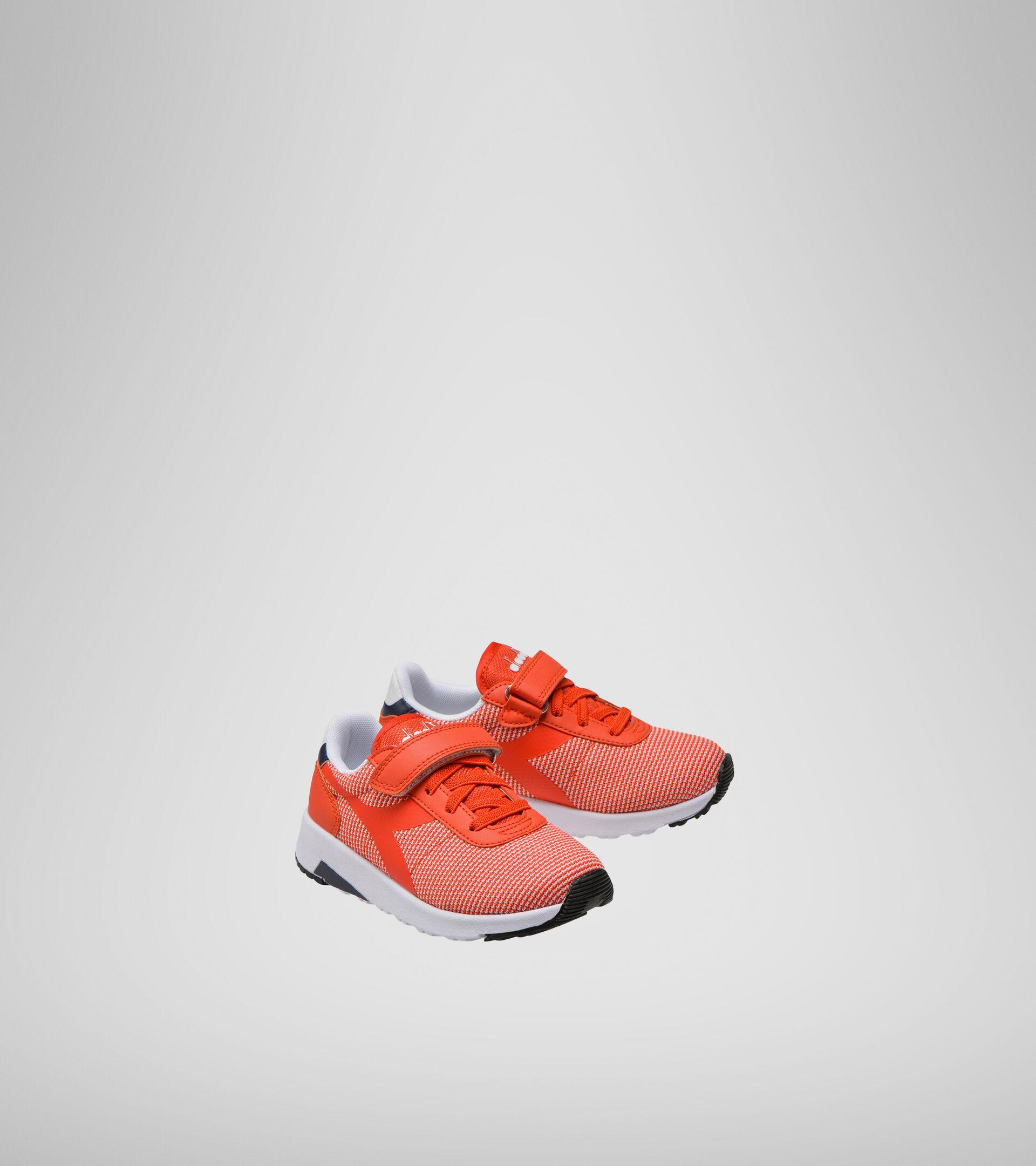 Sports shoes - Kids 4-8 years EVO RUN PS FIESTA/BLACK IRIS - Diadora