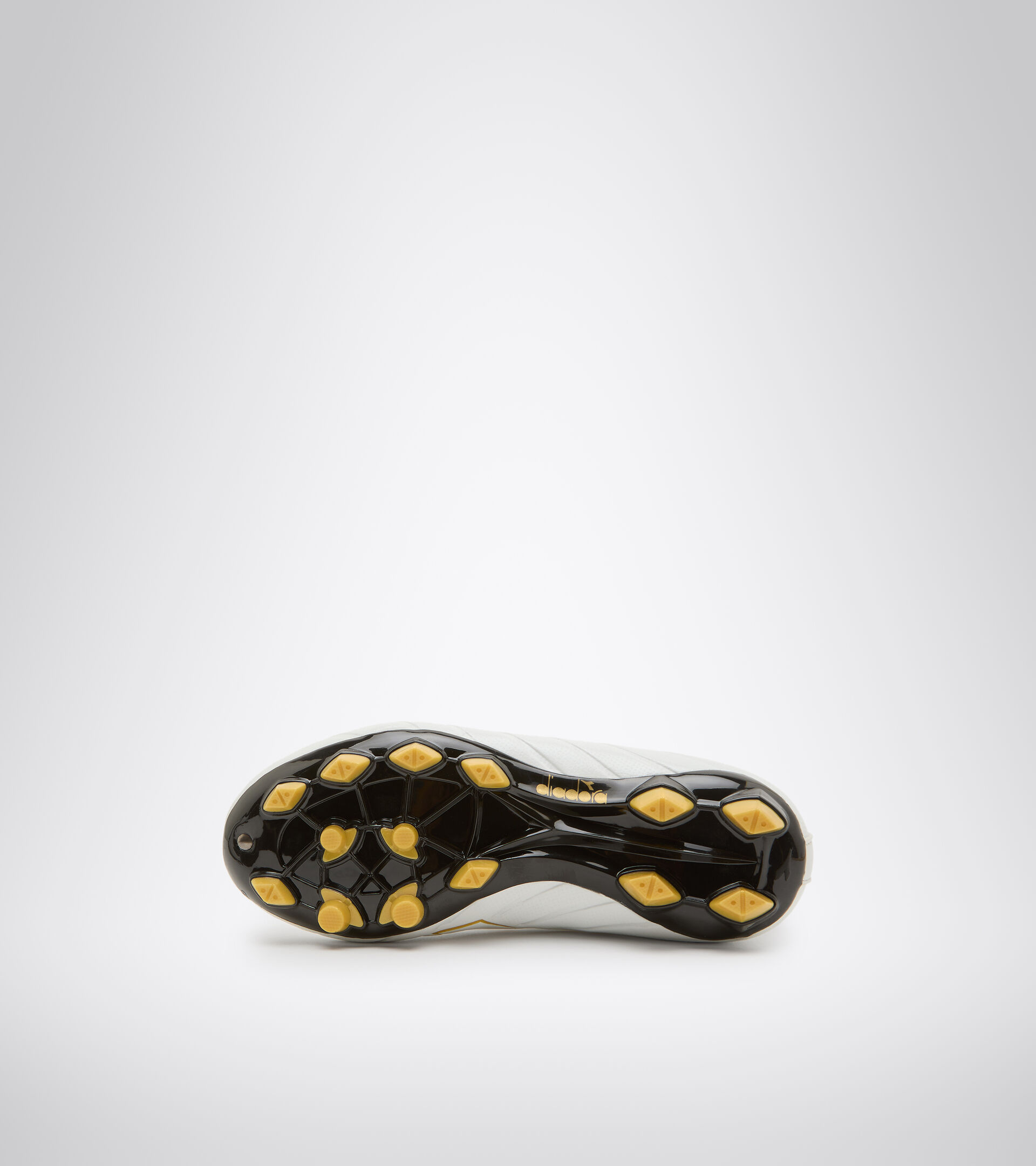 Footwear Sport BAMBINO BRASIL ELITE R LPU JR WHITE/GOLD Diadora