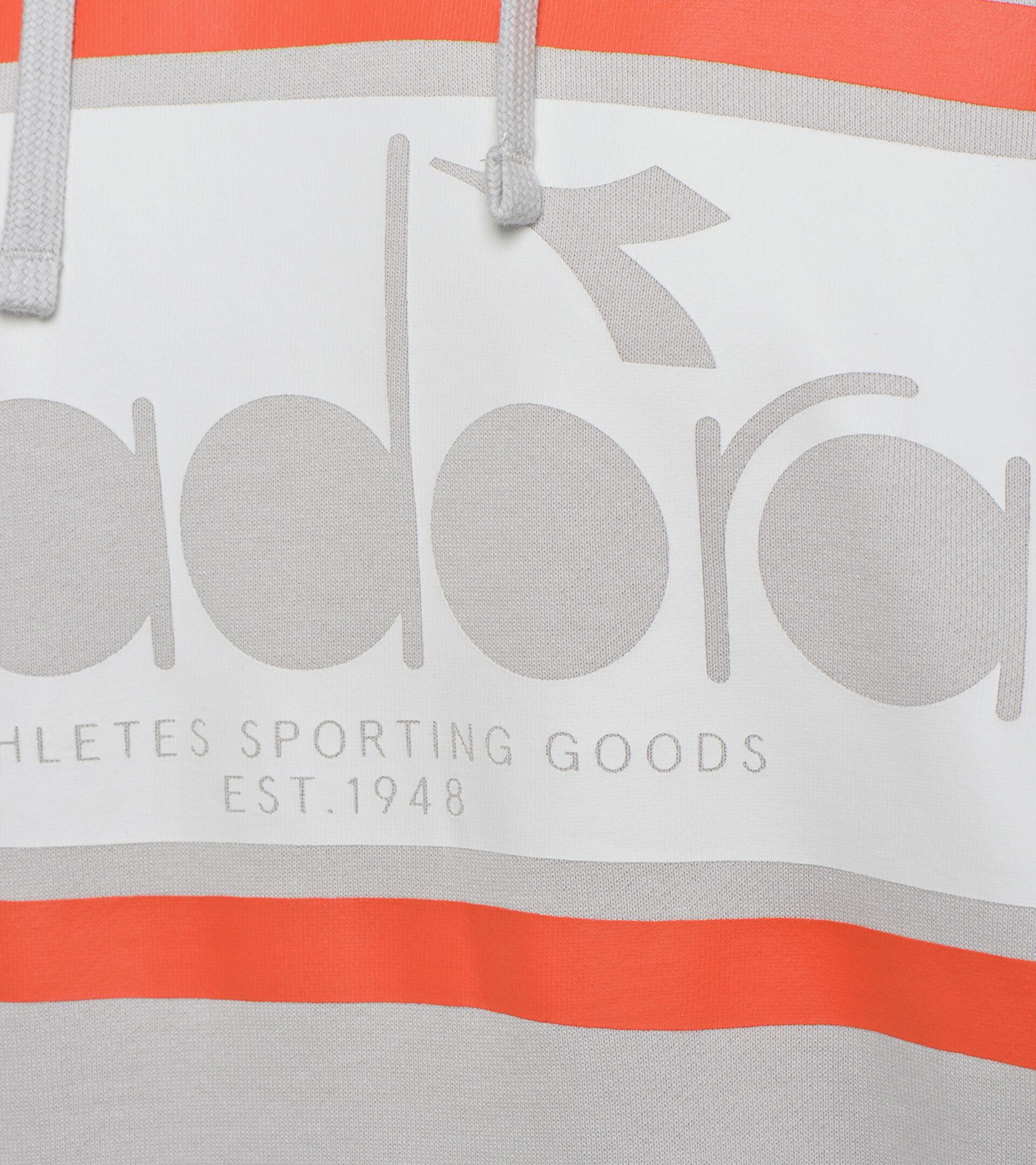 Apparel Sportswear UOMO HOODIE SPECTRA GRIGIO PLEUROTUS Diadora