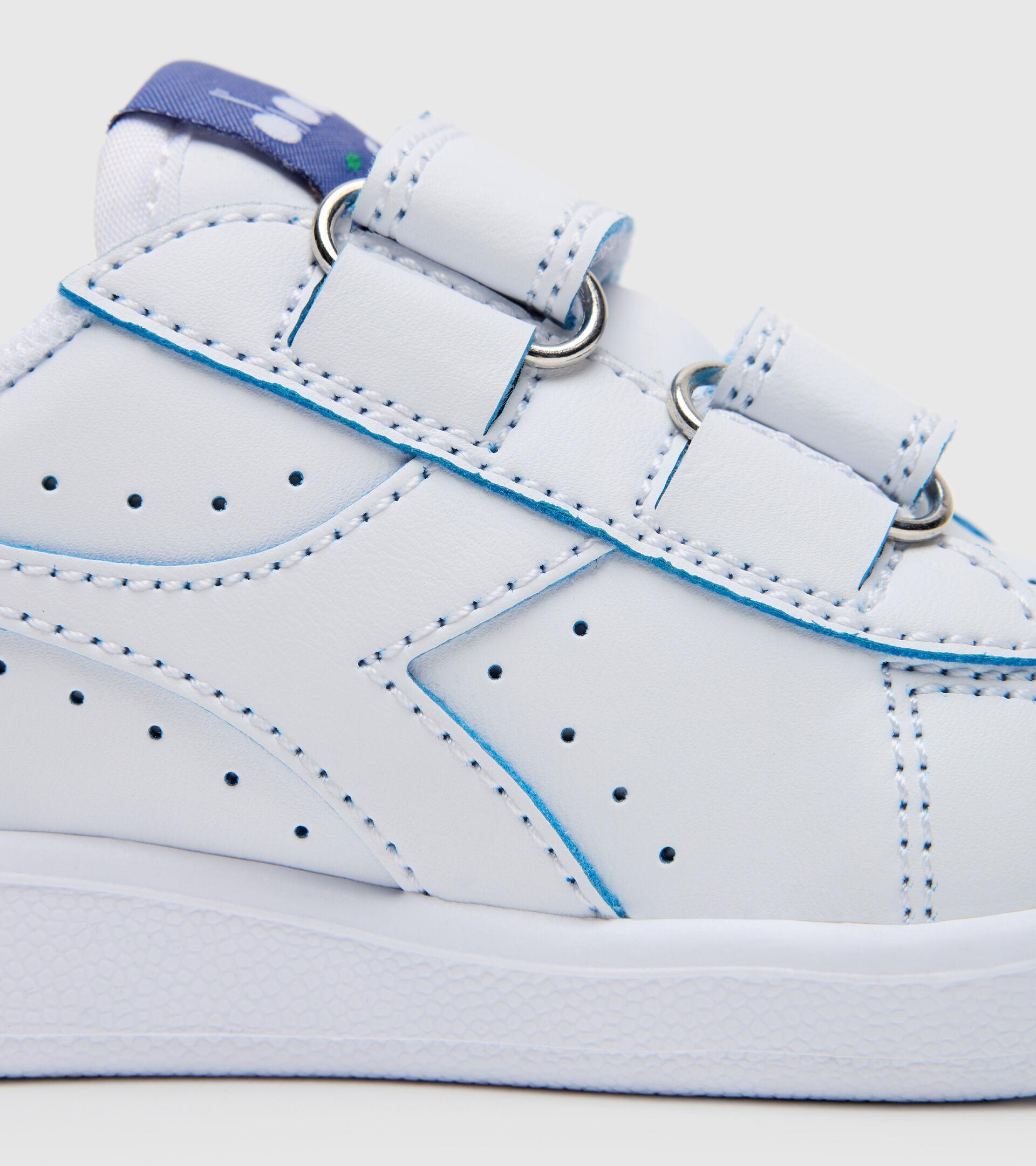 Footwear Sport BAMBINO GAME P SMASH TD WHITE/BLUE EYES Diadora