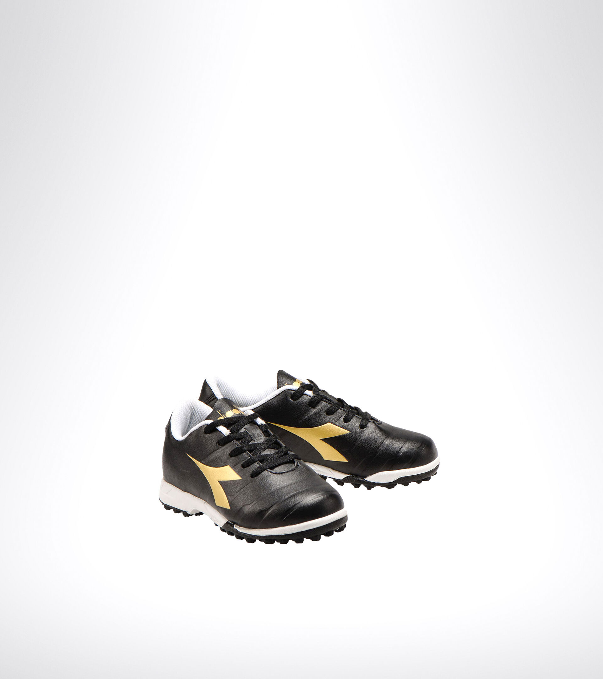 Footwear Sport BAMBINO PICHICHI 3 TF JR NEGRO/BLANCO/ORO MARRON Diadora