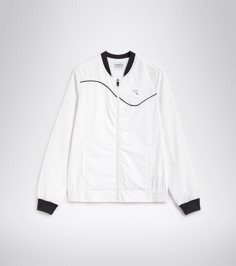 Tennis jacket - Women L. JACKET COURT OPTICAL WHITE - Diadora