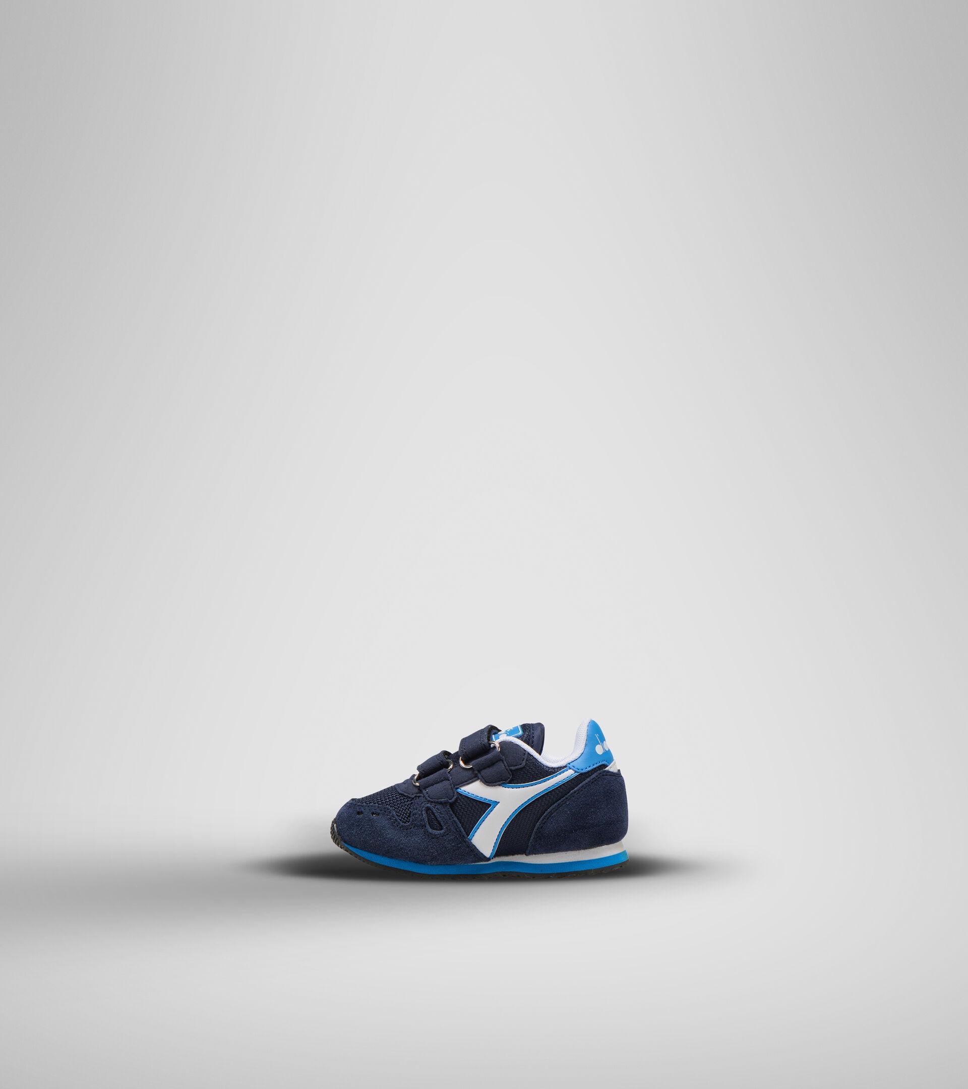 Sports shoes - Toddlers 1-4 years SIMPLE RUN TD CORSAIR/SKY-BLUE BLITHE - Diadora