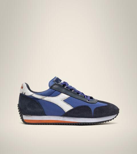 Footwear Heritage UNISEX EQUIPE H DIRTY STONE WASH EVO BLU LIMONGES Diadora