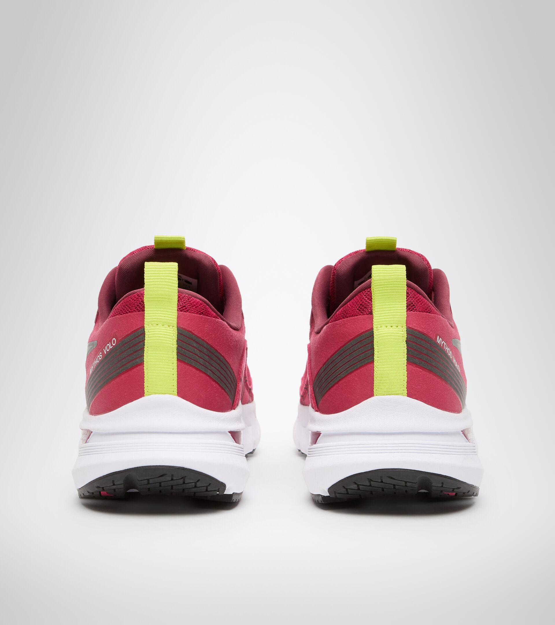 Chaussures de running - Femme MYTHOS BLUSHIELD VOLO W ROSE VOYANT/BLANC/ARGENT DD - Diadora
