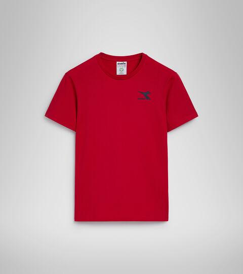 T-Shirt - Herren T-SHIRT SS CHROMIA TANGOROT - Diadora