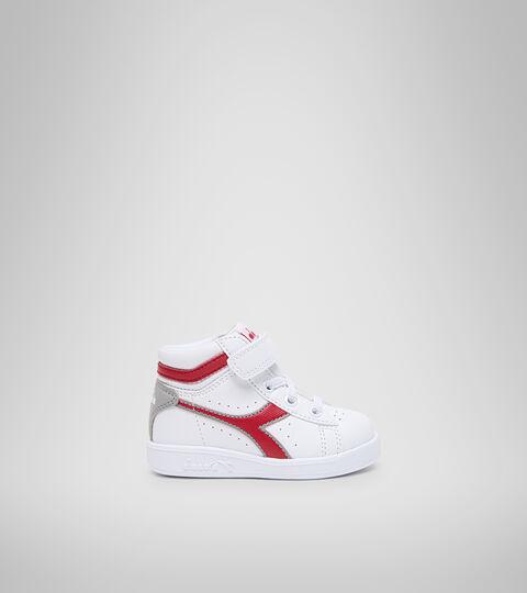 Chaussures de sport - Bambins 1-4 ans GAME P HIGH TD BIANCO/ROSSO TANGO - Diadora
