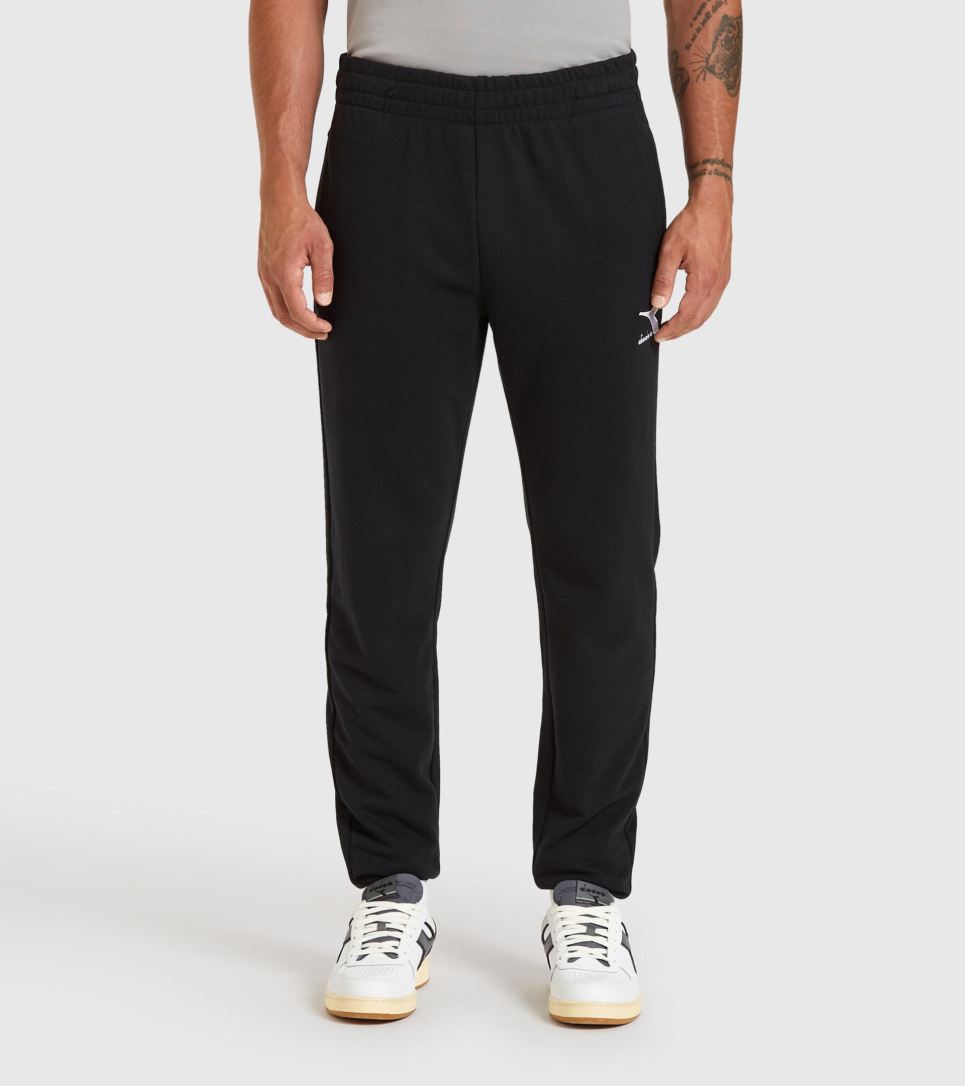 Sports trousers - Men PANTS CUFF CORE BLACK - Diadora