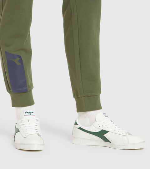 Footwear Sportswear UNISEX GAME L LOW WAXED BLANCO/MAS VERDES Diadora