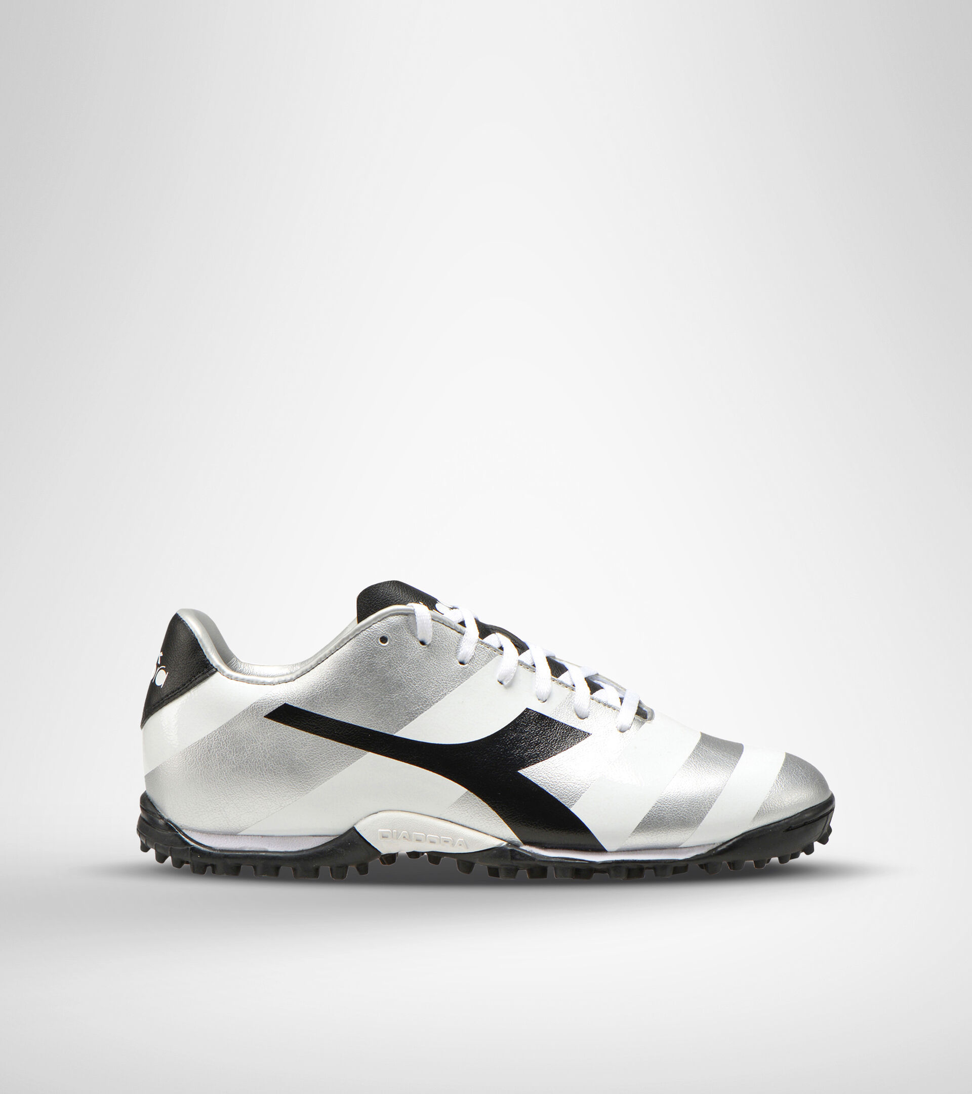 Footwear Sport UOMO RAPTOR R TF BIANCO/NERO/ARGENTO DD Diadora