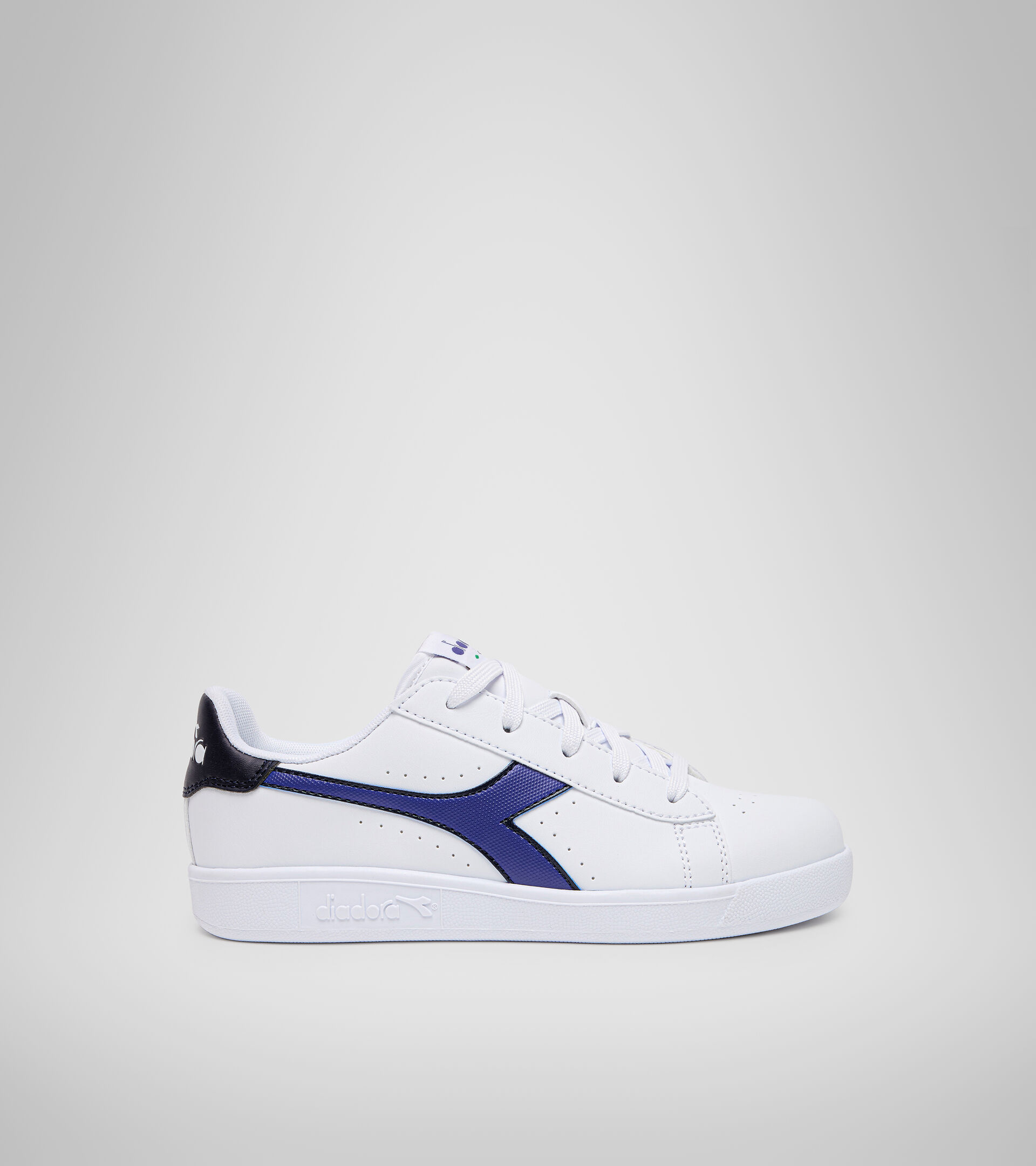 Footwear Sport BAMBINO GAME P GS BIANCO/BLU CLASSICO Diadora