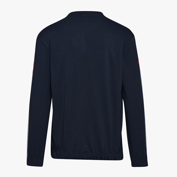 SWEATSHIRT CREW BLKBAR, BLUE CORSAIR , large