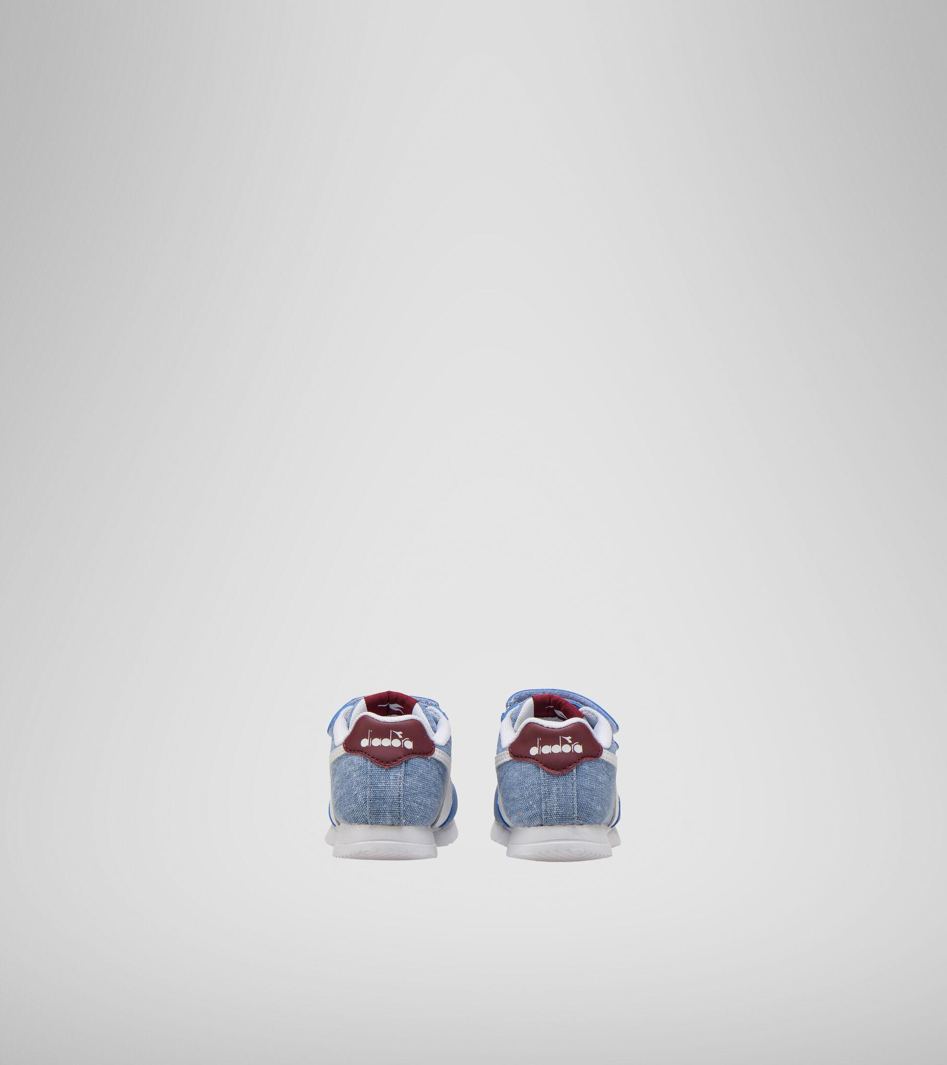 Footwear Sport BAMBINO JOG LIGHT TD FADED DENIM/ZINFANDEL Diadora