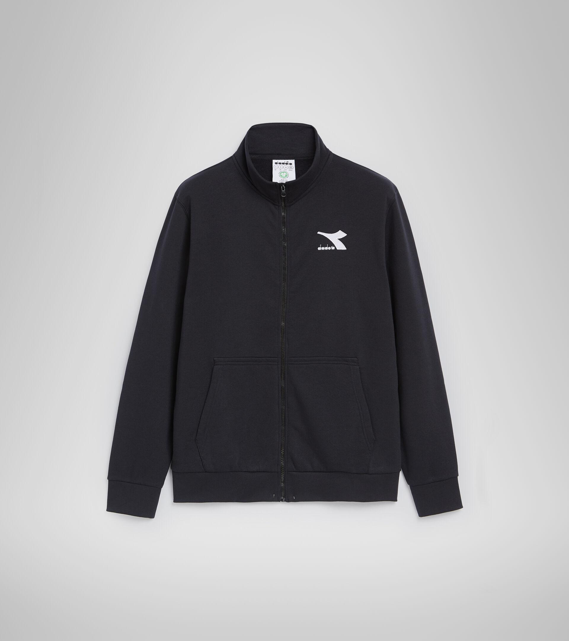 Sweater mit Rundhalsausschnitt - Herren SWEAT FZ CORE SCHWARZ - Diadora