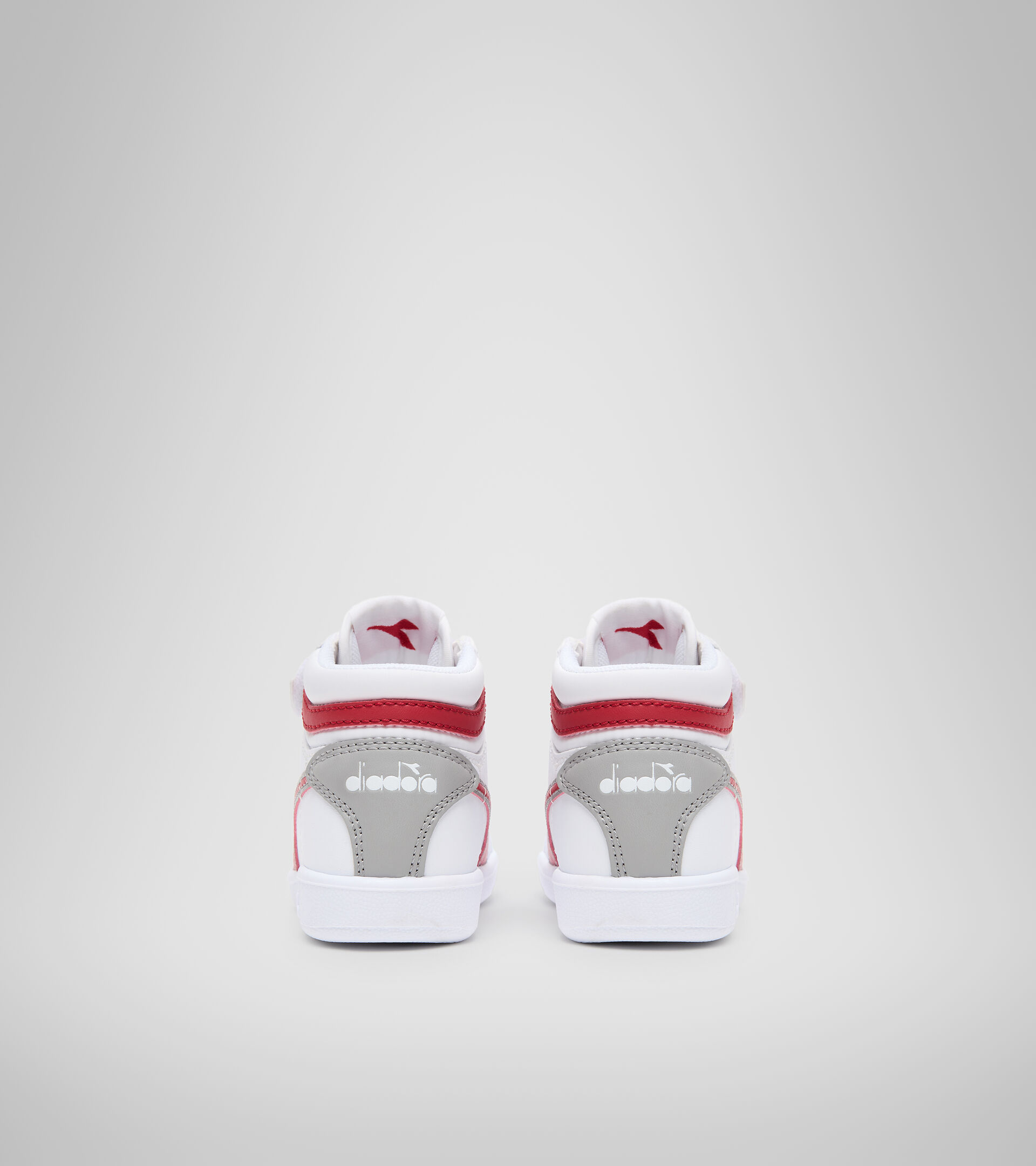 Sports shoes - Toddlers 1-4 years GAME P HIGH TD WHITE/TANGO RED - Diadora