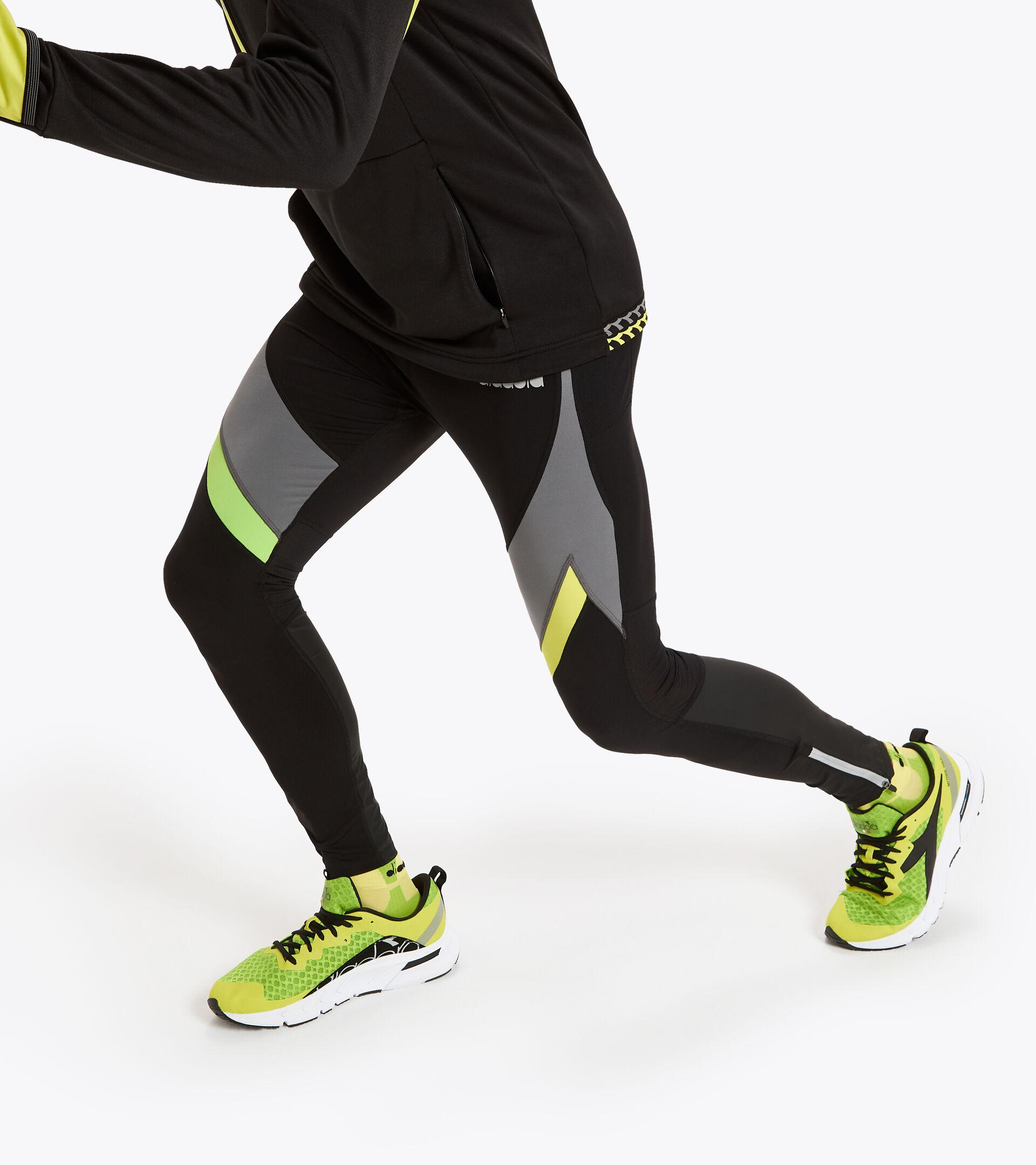 Apparel Sport UOMO WINTER RUNNING TIGHTS NERO Diadora