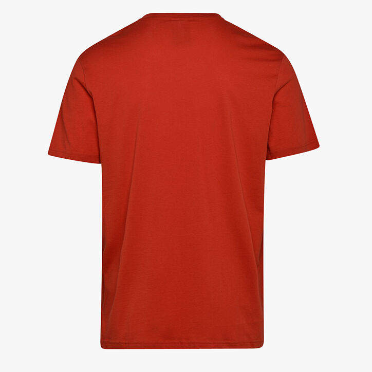 T-SHIRT SS BIG LOGO, MOLTEN LAVA RED, large