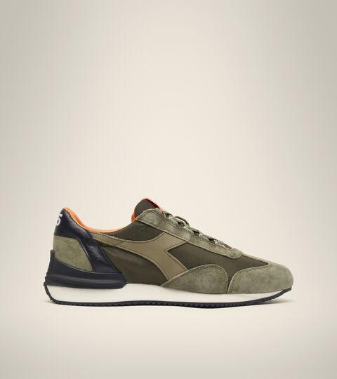 Heritage-Schuh Made in Italy - Unisex EQUIPE MAD ITALIA NUBUCK SW OLIVIN - Diadora